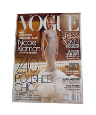 Vogue Monthly Fashion 2000-Now Magazine Back Issues