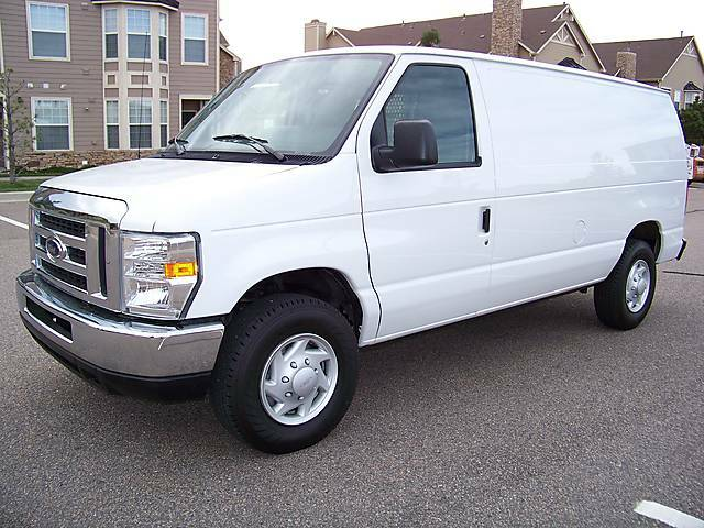 2009 Ford E250 E 250 Super Duty V8 Cargo Van *Low Miles
