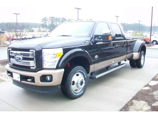 2011 FORD F-350 SUPER DUTY LARIAT KING RANCH 4X4 NAVIGA