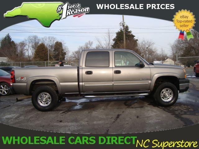 06 Chevrolet Duramax Lt Crew Cab 4x4 Used Pickup 2500hd