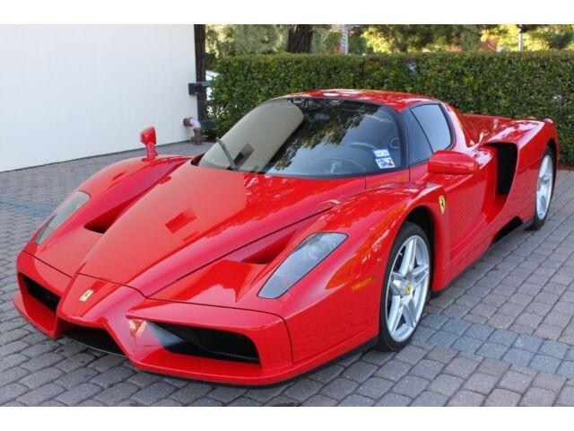 Ferrari ENZO Rosso Corsa with Nero Interior 3005 Miles