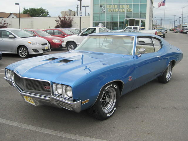 1970 BUICK GS~2DR~LOW MILES~350~LEATHER~RARE FIND