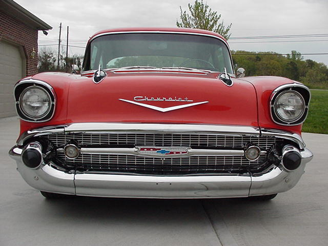 1957 CHEVY 210 POST SUPER NICE