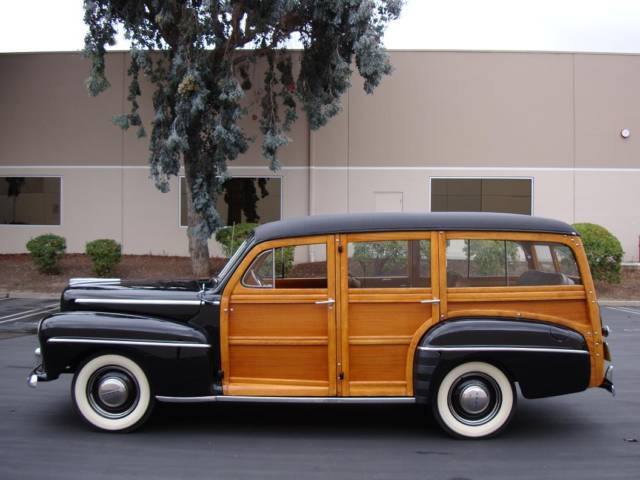 1947 Ford Super Deluxe Woodie Wagon California Car