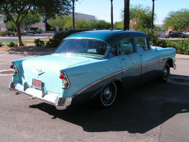 56 CHEVY-RARE RUST FREE ARIZONA SURVIVOR-V8-RUNS GREAT!