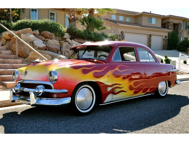 1951 FORD 2-DOOR SEDAN HOT ROD - Flathead V8 - *1 Owner