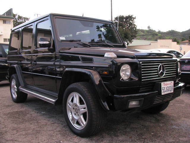 2003 mercedes benz g500 g class suv luxurious 1633 for Mercedes benz g500 used