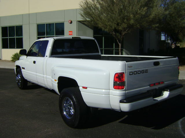 2002 Ram Dually - Cummins Diesel - Leather - White -