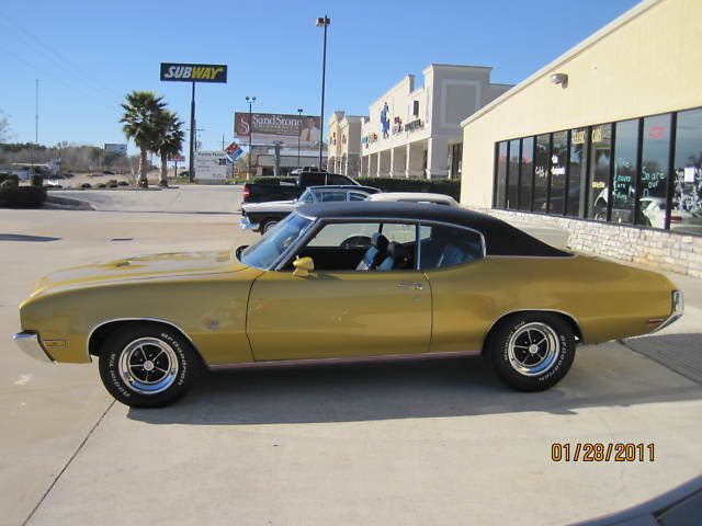 "1971 BUICK ""GS 455 MATCHING #S"""