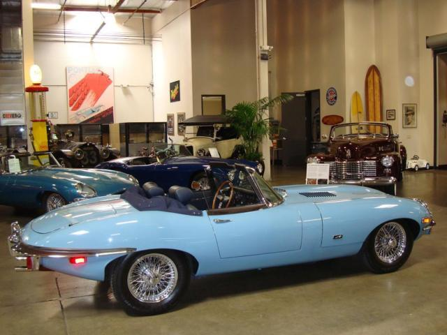 1971 Jaguar XKE LHD OTS Roadster Numbers Matching