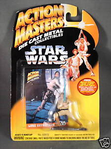 Star-Wars-Action-Masters-Die-Cast-Metal-Luke-Skywalker