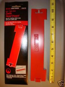 Sears dado head insert 10 craftsman 9 22273 new ebay for 10 table saw dado blade