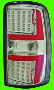 2001 2002 2003 chevy tahoe chrome led tail lights pair ebay. Black Bedroom Furniture Sets. Home Design Ideas