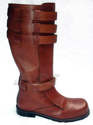wars anakin obi wan custom jedi leather boots