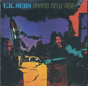 U.K. SUBS - BRAND NEW AGE - (still sealed cd) - AHOY CD 136