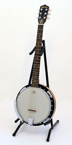 6 String Guitar Style Banjo..REMO HEAD..c/w Gig Bag