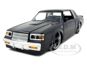 1987-BUICK-GRAND-NATIONAL-BLACK-1-24-DIECAST-MODEL-CAR-BY-JADA-53967