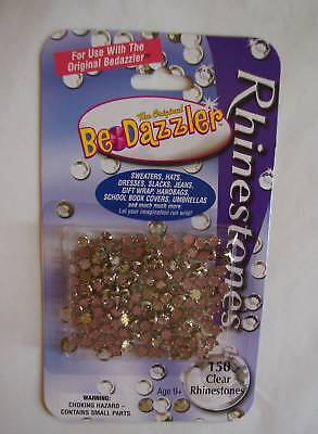 Bedazzler Clear Rhinestone Refill Pack 150 Pc
