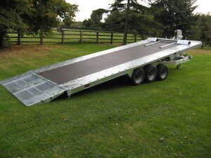BATESON PT66.TRIPLE AXLE.18FT.TILTBED.PLANT/CAR TRAILER