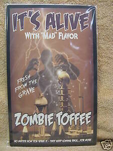 Its-Alive-Zombie-Toffee-HALLOWEEN-Scary-Tin-Metal-Sign