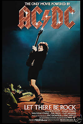 Heavy Metal: : AC/DC * Let There Be Rock * USA Movie Poster 1980