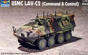 Trumpeter - USMC lav-c2 COMMAND & Control APC M240 Modelo Equipo de construcción