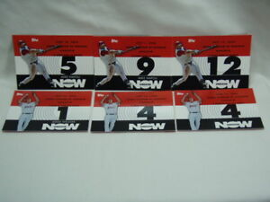 2007-TOPPS-Mike-Napoli-Jered-Weaver-6-Card-Lot-Angels