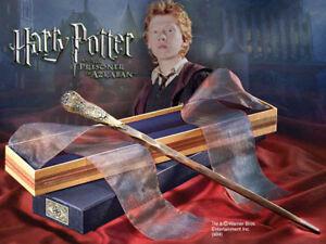 HARRY POTTER bacchetta magico RON WEASLEY+scatola collezionista negozio