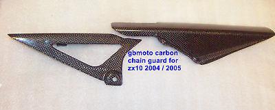 gbmoto carbon chain guard zx10 zx10r 2004 2005 kawasaki