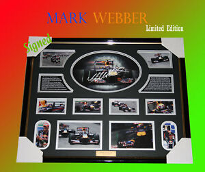 MARK-WEBBER-F1-RACING-SIGNED-FRAME-LIMITED-EDITION
