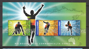 2006-Melbourne-Commonwealth-Games-MUH-Mini-Sheet