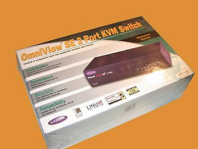 Omniview Se 2 Port Kvm Switch Model F1d102