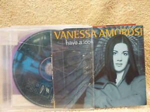 VANESSA AMOROSI HAVE A LOOK C.D.NEW