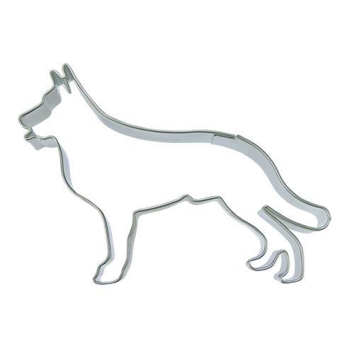 Austecher/ Ausstechform, Schäferhund  7 cm