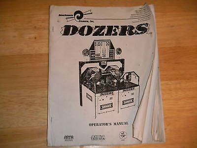 DOZERS REDEMPTION  game manual
