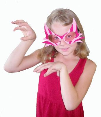 Alice in Wonderland Cheshire Cat Pink Glasses - Cheshire Cat Mask