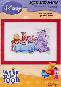 Disney Winnie The Pooh Cross Stitch Kit Royal Paris 6432-0044 Play With Pooh