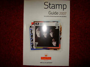 Royal-Mail-Stamp-Guide-2007-mint-Beatles-Cover