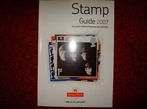 Royal-Mail-Stamp-Guide-2007-mint-Beatles-Cover-Rare-mint-condition