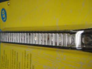"UNDERWATER LIGHT LED 6"" 10 LEDS 12V WATERPROOF 50-03011 MARINE BOAT FISHING"