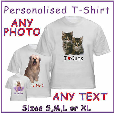 Personalised-Adult-Photo-T-shirt-Any-image-Any-Text