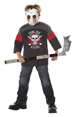 Friday the 13th Jason Voorhees Blood Sport Child Costume - Sports Costumes Kids