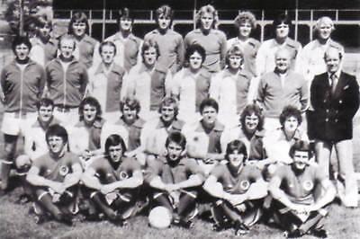 BLACKBURN ROVERS FOOTBALL TEAM PHOTO 1977-78 SEASON