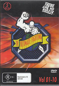 UFC THE ULTIMATE FIGHTING CHAMPIONSHIP VOL 1-10