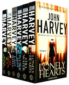 John-Harvey-6-Books-Collection-Set-RRP-43-94