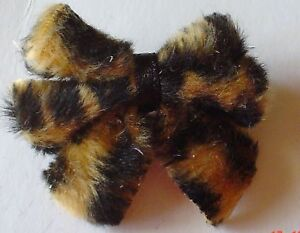 Lovely Leopard Print  Bow Barrette Feux Fur - <span itemprop=availableAtOrFrom>Swaffham, United Kingdom</span> - Returns accepted Most purchases from business sellers are protected by the Consumer Contract Regulations 2013 which give you the right to cancel the purchase within 14 days after the day - Swaffham, United Kingdom