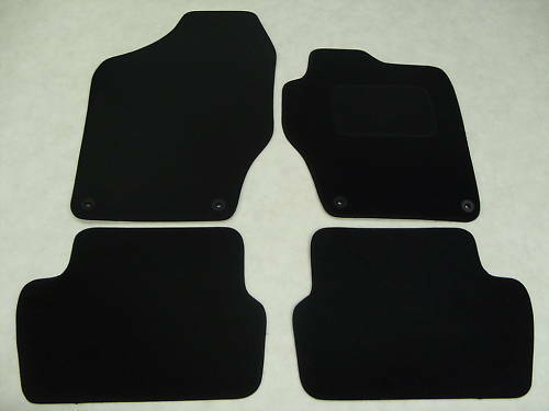 Peugeot 308 2008-14 Tailored Fit Car Mats in Black