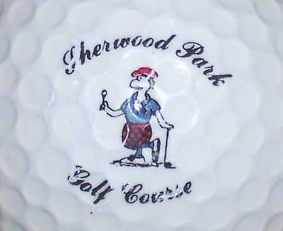 (1) SHERWOOD PARK CC CLUB COURSE LOGO GOLF BALL BALLS