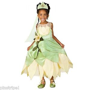 Disney Store Deluxe Princess and the Frog Tiana Wedding Gown Dress ...