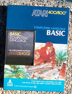 Basic  Cartridge Atari Orig New (NIB) 400/800/XL/XE